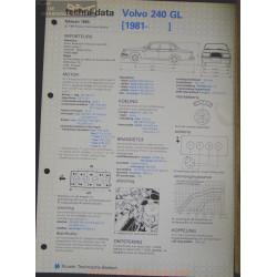 Volvo 240 Gl Techni 1983