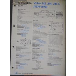 Volvo 242 244 245 L Techni 1981