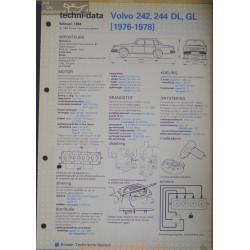 Volvo 242 244 Dl Gl Techni 1984