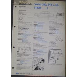 Volvo 242 244 L Dl Techni 1984