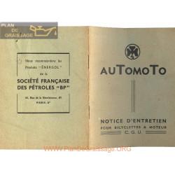 Cyclo Automoto Notice Entretien