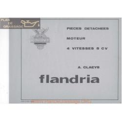 Flandria Moteur 4 Vitesse 5cv Pieces Detachees