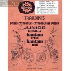 Garelli Junior Bantam Cross Parts Catalogue
