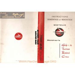 Garelli Rekord Turismo Cross Instruction