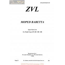Jawa 207 Babetta Eng Part Liste