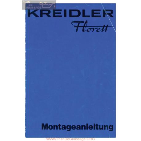 Kreidler Florett Bleu 1978 Manuel De Montage