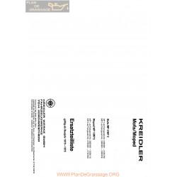 Kreidler Mf 4 2 Mp 1 2 Manuel 1970 A1975