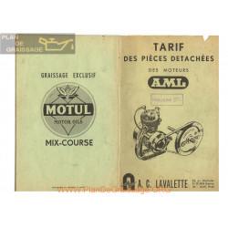 Lavalette Aml 50 Pieces Detachees