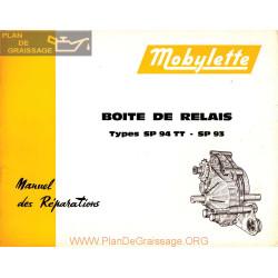 Mobylette Sp 94 93 Sp Tt Boite Relais 1 Version