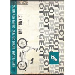 Peugeot 102 Nmr Nmt Pieces Detachees 1974