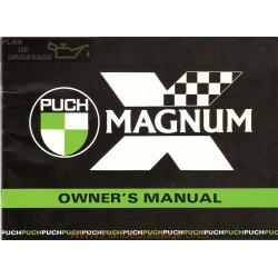 Puch Magnum X Engl Manuel Utilisateur