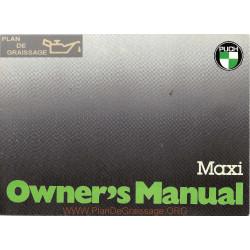 Puch Maxi Manuel Utilisateur Engl