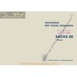 Sachs 3 Vitesses 50cc Moteur 1959