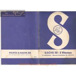 Sachs 3v 50cc Manuel