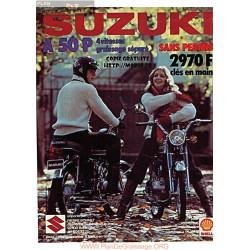 Suzuki A50p Manuel Eng