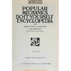 Encyclopedia Do It Yourself Volume 03 Popular Mechanics