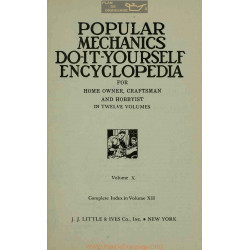 Encyclopedia Do It Yourself Volume 10 Popular Mechanics