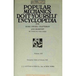 Encyclopedia Do It Yourself Volume 12 Popular Mechanics