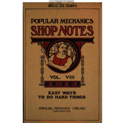 Shop Notes 1912 Popular Mechanics Volume8 1912
