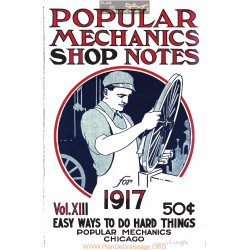 Shop Notes 1917 Popular Mechanics Volume13 1917