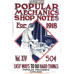 Shop Notes 1918 Popular Mechanics Volume14 1918