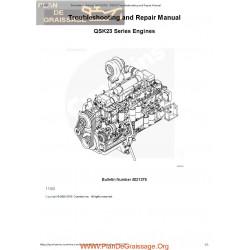 Cummins Qsk 23 Engines 2003 Troubleshooting Repair Manual