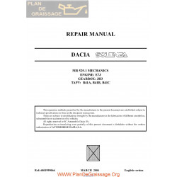 Dacia Solenza 2004 Repair Manual