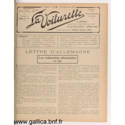 La Voiturette N10 10 Septembre 1908