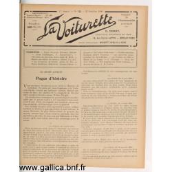 La Voiturette N13 25 Octobre 1908