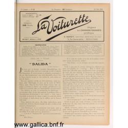 La Voiturette N3 25 Mai 1908