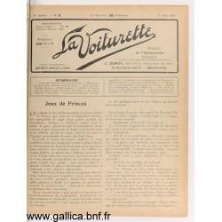 La Voiturette N5 25 Juin 1908