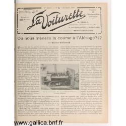 La Voiturette N6 10 Juillet 1908