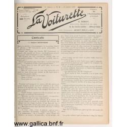 La Voiturette N7 25 Juillet 1908