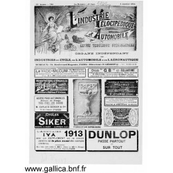 L Industrie Velocipedique 1914 Organe Des Fabricants Mecaniciens