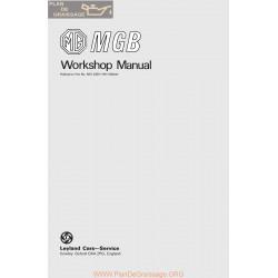 Mg Mgb Akd3259 Workshop Manual
