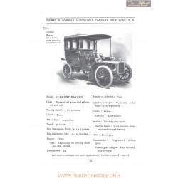 Clement Bayard Sidney B Bowman Model Clement Bayard Fiche Info 1907