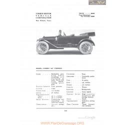 Corbin 40 Torpedo Fiche Info 1912