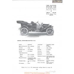 Dayton Stoddard 10a Fiche Info 1910