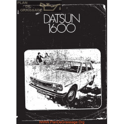 Datsun 1600 510 L16 1973 Engine Service Repair Manual