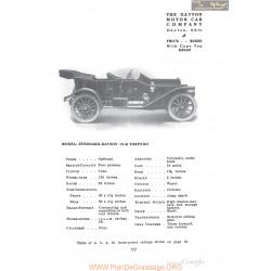 Dayton Stoddard 10k Torpedo Fiche Info 1910