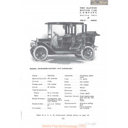 Dayton Stoddard 10t Landaulet Fiche Info 1910