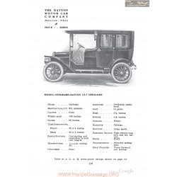 Dayton Stoddard 10t Limousine Fiche Info 1910