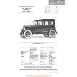 Dort Sedan 19t Fiche Info 1922