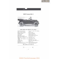 Dort Touring Car 5 Fiche Info Mc Clures 1916