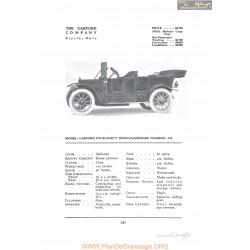 Garford Four Forty Seven Passenger Touring G8 Fiche Info 1912