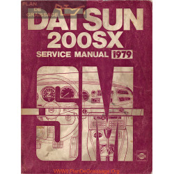 Datsun 200sx S10 1979 Factory Service Manual