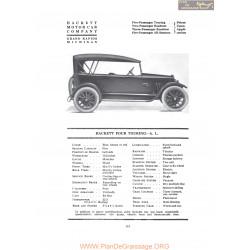 Hackett Four Touring Al Fiche Info 1919