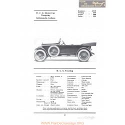 Hcs Touring Fiche Info 1922