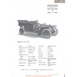 Hewitt P&s 4 50 Fiche Info 1910