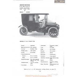 Hewitt P&s Town Fiche Info 1910